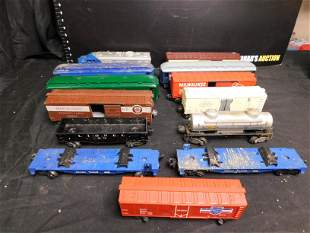 Lot of 13 Trains - Mostly Lionel