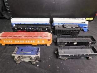 Lot of 8 Lionel Trains