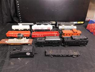 Lot of 14 Trains - Mostly Lionel