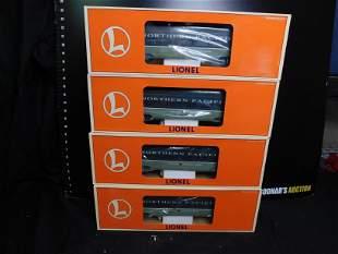 Lionel Northern Pacific 4 Car Passenger Set