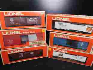 Lot of 6 Lionel Rolling Stock in Boxes