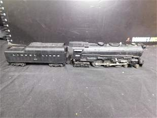 Lionel 665 Steam Engine with 2046W Whistling Tender