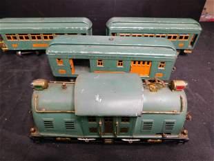 Lionel Pre War Passenger Set - Standard Gauge
