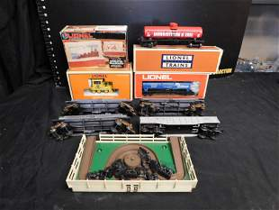 Lot of Lionel Cars and Accessories