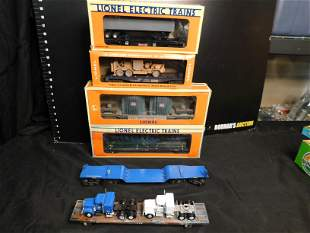 Group Lot of 6 Train Cars including Lionel