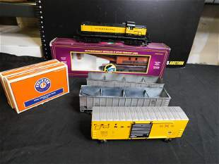 Lot of Lionel and MTH Cars and Accessories