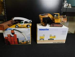 Lot of 2 Construction Vehicles