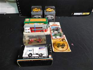 Lot of 9 Toy Cars and Trucks