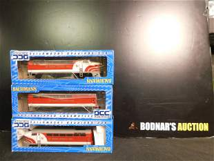 Lot of 3 Bachmann HO Scale Engines