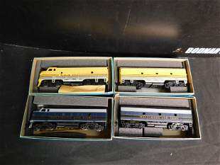 Lot of 4 HO Scale Athern Engines