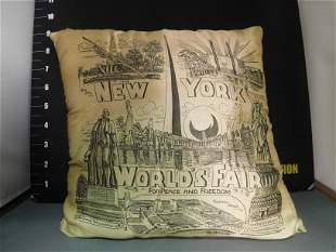 New York World's Fair Pillow