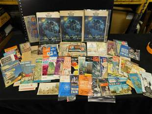 1964 New York World's Fair Brochures and Maps - Large