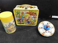 Lot of 2 Vintage Disney Items including Lunchbox with