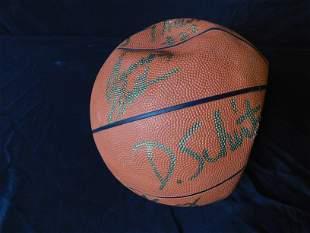 NJ Nets Autographed Basketball