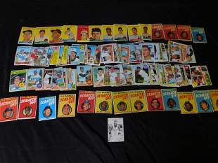 Lot of 1950's and 1960's Baseball Cards