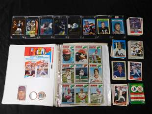Mixed Lot of Sports Cards - 70's and 80's