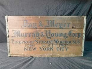 Wooden Advertising Crate