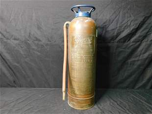 Pyrene Copper Fire Extinguisher