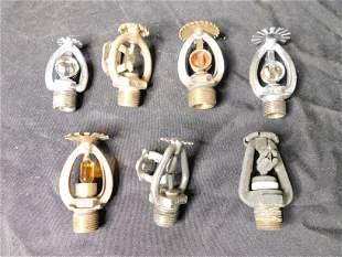 Lot of Vintage Fire Hose Valves