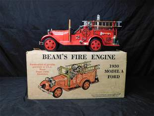 Jim Bean Ford Model A Engine Decanter
