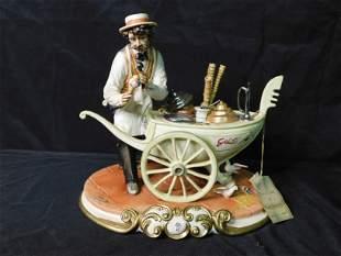Capodimonte Gelati Ice Cream Man Figurine