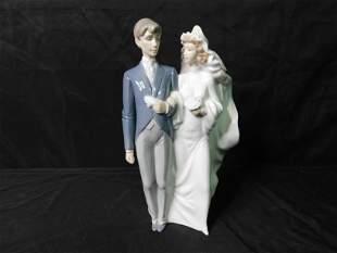 Bride and Groom Nao Figurine