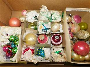 Box Lot of Vintage Christmas