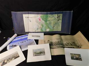 Box Lot of Etchings and Lithos