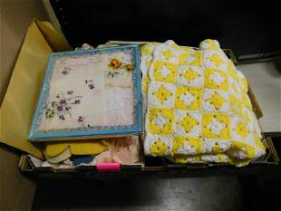 Lot of Textiles and Fabric