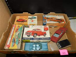 Lot of Model Kits - Not Complete