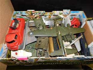 Lot of Plastic Planes, Army Vehicles, and More