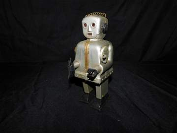 Vintage Battery Operated Robot