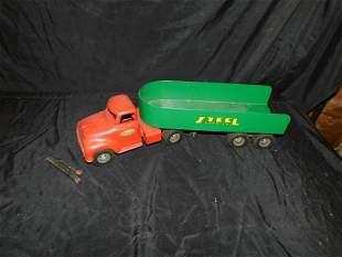 Vintage Pressed Steel Tonka Toy - Steel Carrier