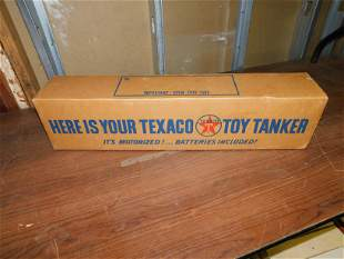Texaco Toy Tanker Boat in Original Box and Paperwork