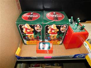 Lot of Coca-Cola Collectibles