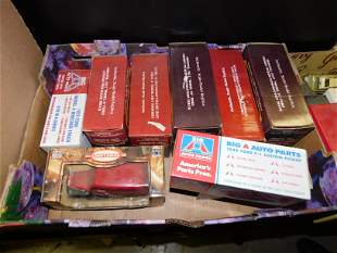 Lot of 9 Die-Cast Cars with Boxes