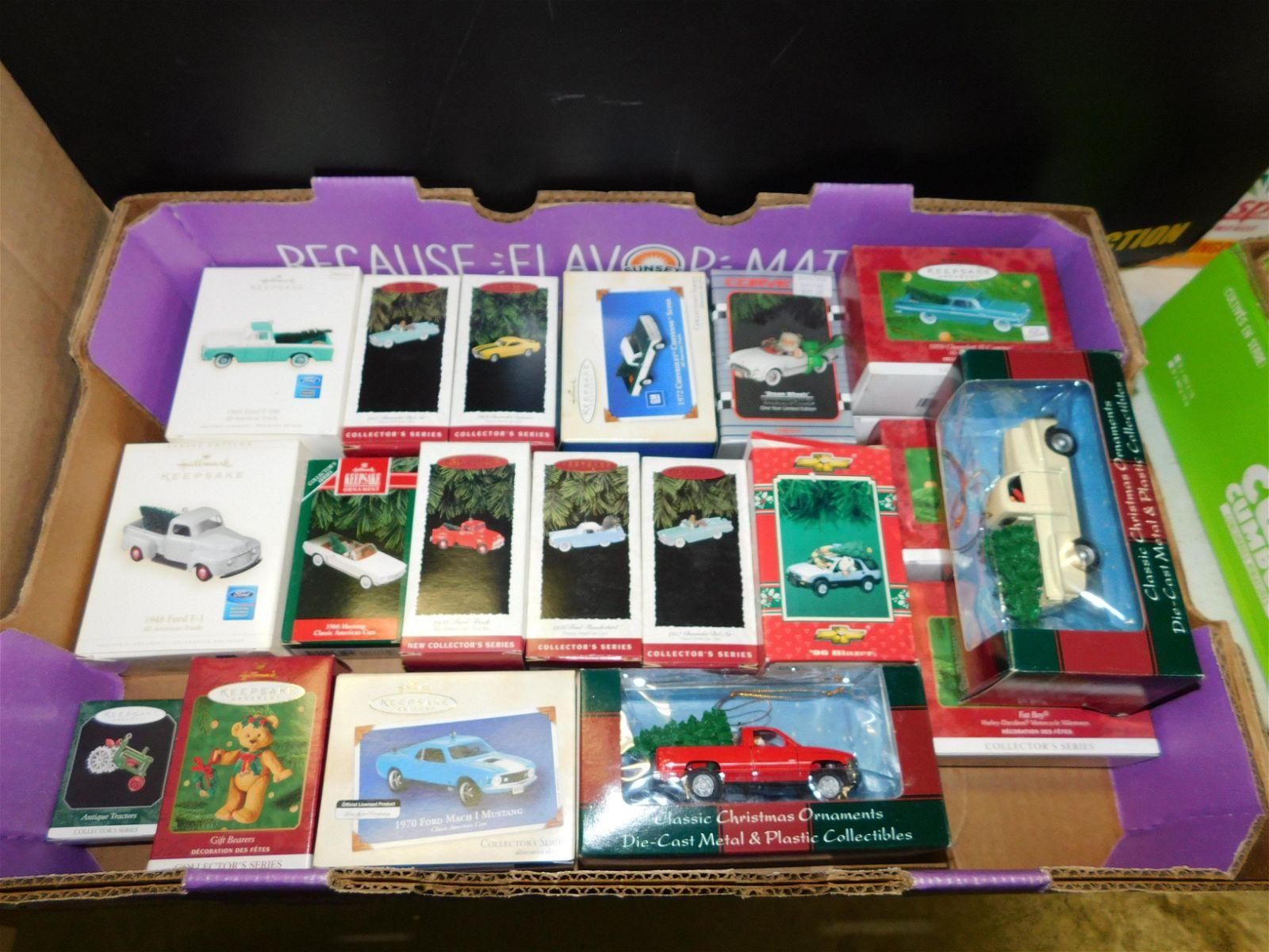 Lot of 21 Hallmark Christmas Ornaments