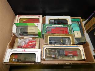 Lot of 9 Ertl Truck and Tractor Banks