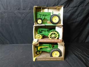 Lot of 3 John Deere Tractors