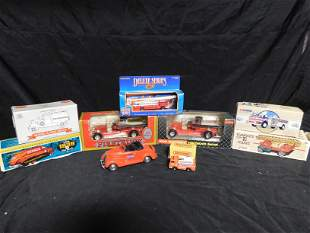 Lot of Die-Cast Fire Trucks including Corgi and ERTL