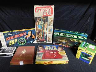 Lot of Board and Electronic Games