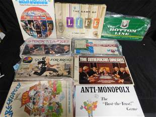Lot of 8 Financial Related Board Games