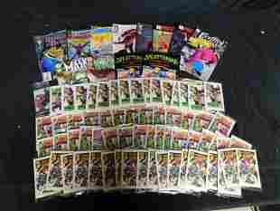 Box Lot with Comics and Drake's Mini Comics