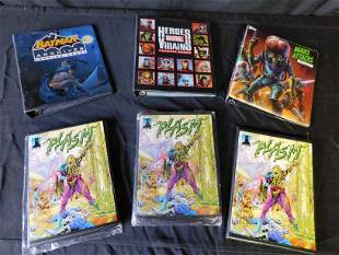 Box Lot with Plasm and Marvel Trading Cards