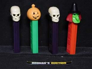 Lot of 4 Spooky Vintage Pez