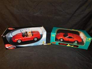 Lot of 2 Ferrari Model Cars