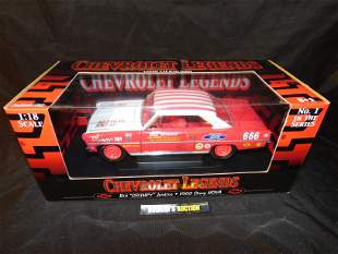 Ertl Chevrolet Legends 1966 Chevy Nova
