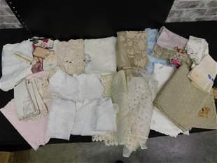 Box Lot of Textiles