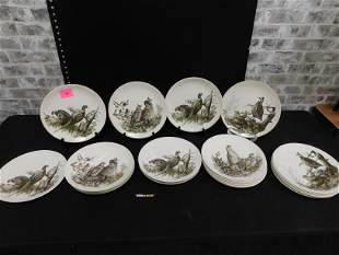 Lot of Johnson Brothers Game Birds Plates