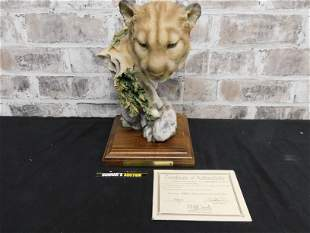 Mill Creek Studio Outlook Lion Sculpture